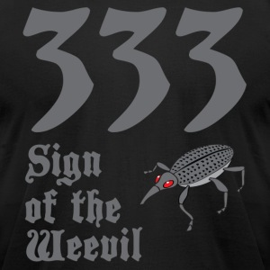 333 Sign of the Weevil - Men's T-Shirt by American Apparel