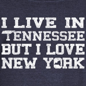 Live Tennessee Love New York Long Sleeve Shirts - Women's Wideneck Sweatshirt