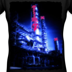 Chemical Plant Women's T-Shirts - Women's V-Neck T-Shirt