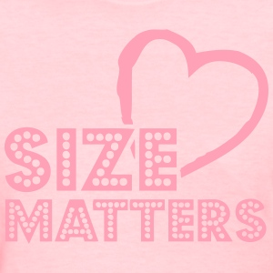 Size of your heart matters Women's T-Shirts - Women's T-Shirt