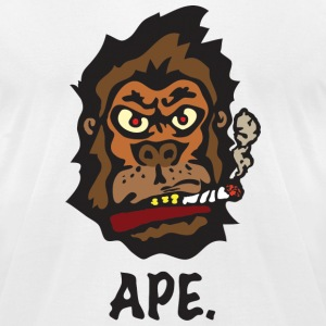Ape T-Shirts - Men's T-Shirt by American Apparel