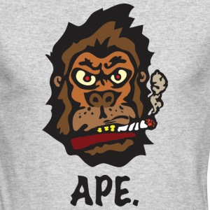 Ape Long Sleeve Shirts - Men's Long Sleeve T-Shirt by Next Level