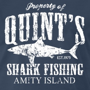 Quints Shark Fishing - Men's Premium T-Shirt
