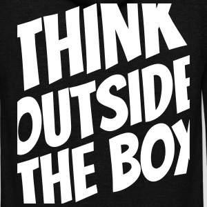 Think outside the box Zip Hoodies & Jackets - Unisex Fleece Zip Hoodie by American Apparel