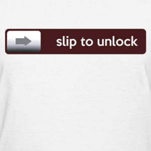 slip for unlock - Women's T-Shirt