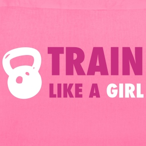 Train Like A Girl - Crossfit Bags & backpacks - Tote Bag