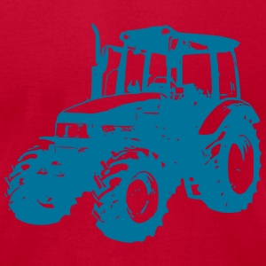 tractor (1 color) T-Shirts - Men's T-Shirt by American Apparel