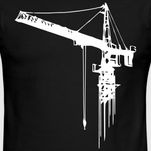 tower crane (1 color) T-Shirts - Men's Ringer T-Shirt