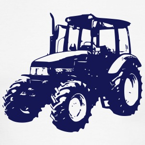 tractor (1 color) T-Shirts - Men's Ringer T-Shirt
