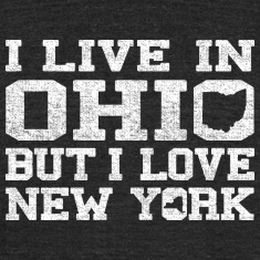 Live Ohio Love New York T-Shirts