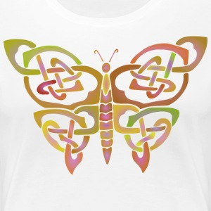Celtic Butterfly - Women's Premium T-Shirt