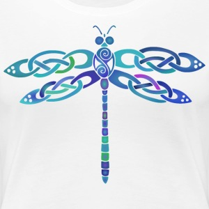 Celtic Dragonfly - Women's Premium T-Shirt