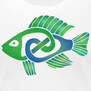 Celtic Fish - Women's Premium T-Shirt
