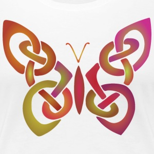 Celtic Butterfly II - Women's Premium T-Shirt