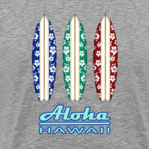 ALOHA - Hawaiian Surfboards - Men's Premium T-Shirt