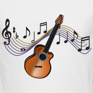 Acoustic Guitar - Men's Long Sleeve T-Shirt by Next Level