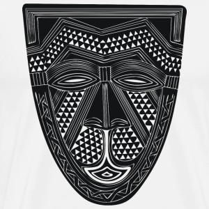 African Art - Mask - Tribal T-Shirts - Men's Premium T-Shirt