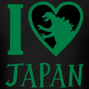 Godzilla Heart Japan T-Shirts - Men's T-Shirt