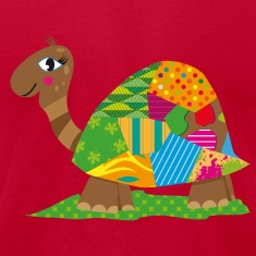 A patchwork turtle T-Shirts