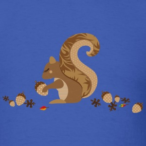 A squirrel with an acorn T-Shirts - Men's T-Shirt