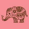 a decorated Indian elephant Tanks - Women's Flowy Tank Top by Bella