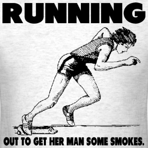 Running Smokes - Men's T-Shirt