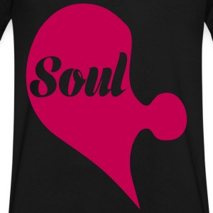 Soul T-Shirts - Men's V-Neck T-Shirt by Canvas