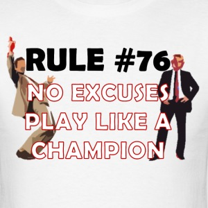 Wedding Crashers Rule76 T-Shirts - Men's T-Shirt