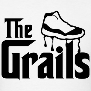 the grails jordan 11 graphics T-Shirts - Men's T-Shirt