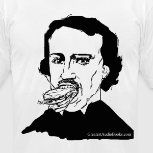 Edgar Allen Po'boy - Men's T-Shirt by American Apparel