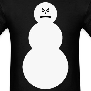 The Grumpy Snowman T-shirt - Men's T-Shirt