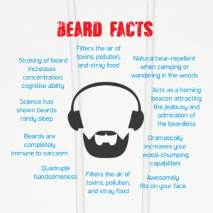 Beard Facts - Men's Hoodie