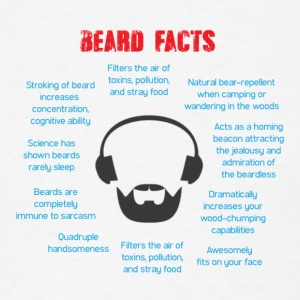 Beard Facts - Men's T-Shirt