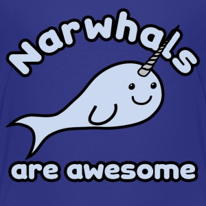 Narwhals are Awesome - Kids' Premium T-Shirt