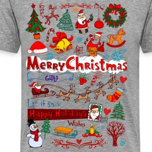 Christmas - Santa - December T-Shirts - Men's Premium T-Shirt