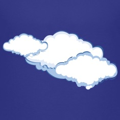 Cloudy - Weather Kids' Shirts