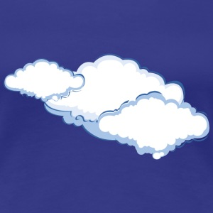 Cloudy - Weather Women's T-Shirts - Women's Premium T-Shirt