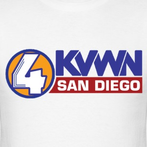 Anchorman KVWN T-Shirts - Men's T-Shirt