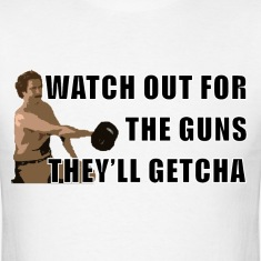Anchorman Guns T-Shirts