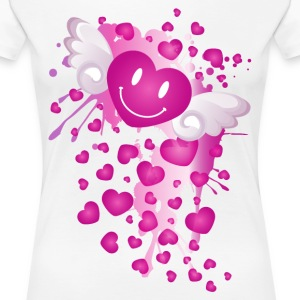 Angel_Hearts - Women's Premium T-Shirt