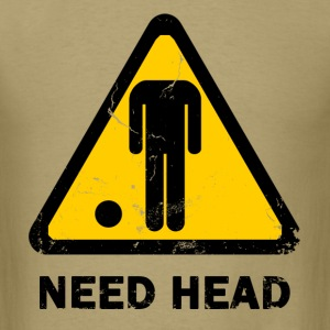 need head - Men's T-Shirt