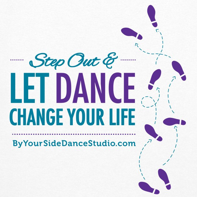 Womens Hoodie - Let Dance Change Your Life