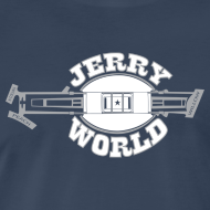 Design ~ The Jerry World Map Shirt