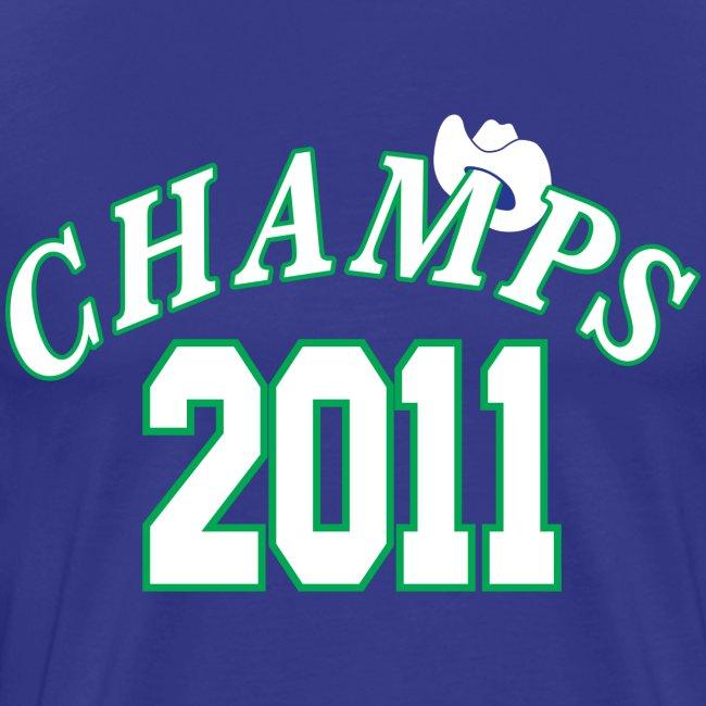 2011 World Champion Mavericks Throwback Shirt