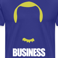 Design ~ Business in the Front, Party in the Back - Dirk Shirt