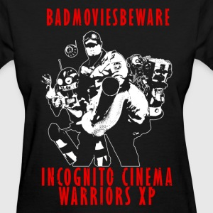 ICWXP Bad Movies Beware! - Women's T-Shirt