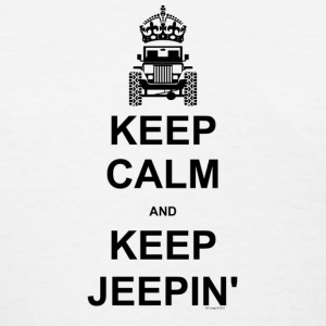 Keep Calm and Keep Jeepin - Women's T-Shirt