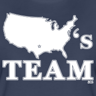 Design ~ America's Team woman's shirt