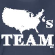 Design ~ America's Team woman's shirt