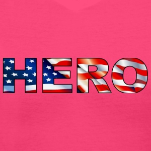 Hero - Women's V-Neck T-Shirt